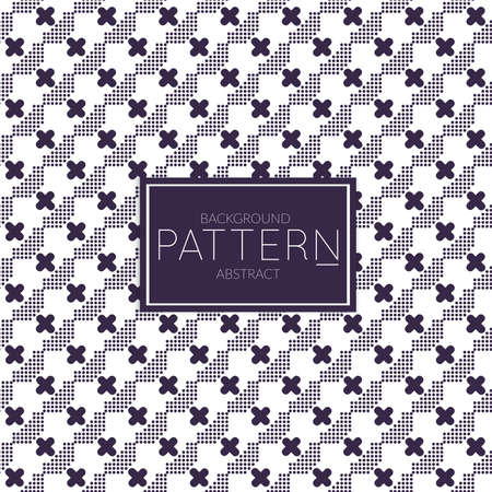 Abstract geometric vector pattern. Monochrome creative stylish texture. Abstract minimal backdrop for wallpaper, web design, textile, decor, cover template. Dark blue on white.