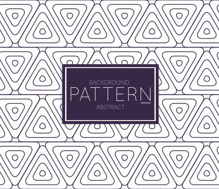 Abstract geometric vector pattern. Monochrome creative stylish texture. Abstract minimal backdrop for wallpaper, web design, textile, décor, cover template. Dark blue on white. Illustration