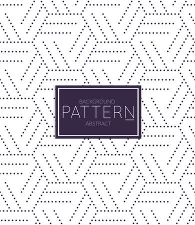 Abstract geometric vector pattern. Monochrome creative stylish texture. Abstract minimal backdrop for wallpaper, web design, textile, décor, cover template. Dark blue on white.