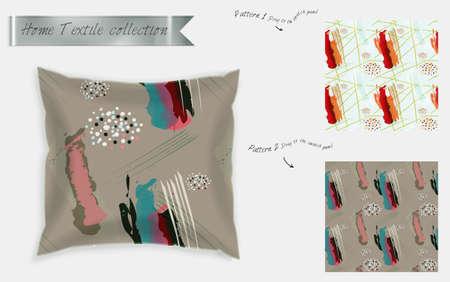 Interior Design Textile Patterns Realistic Satin Decorative Gorgeous Free Decorative Pillow Patterns
