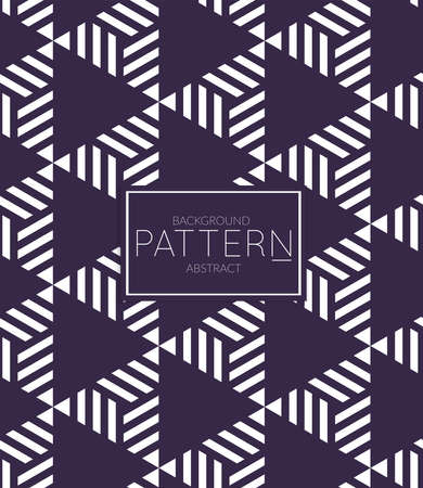 Abstract geometric vector pattern. Monochrome creative stylish texture. Abstract minimal backdrop for wallpaper, web design, textile, décor, cover template. Dark blue on white. 일러스트