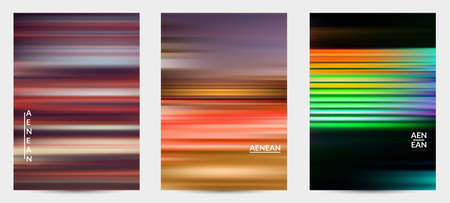 Abstract science banner with speed light moving fast bright blurred lines. Fluid motion gradients. Sports or music futuristic background. Multicolored liquid texture for marketing technology. Stock Illustratie