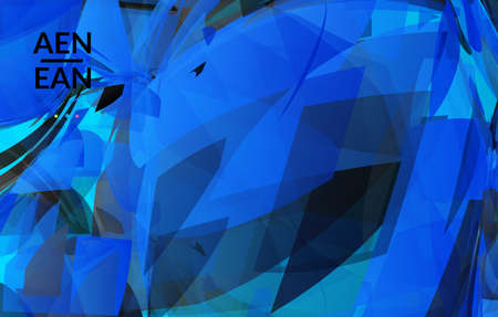 Abstract multicolored shattered glass texture. Transparent overlapping sharp particles create ice crystal digital effect. Explosion burst movement pattern. Background template random fragile motion.