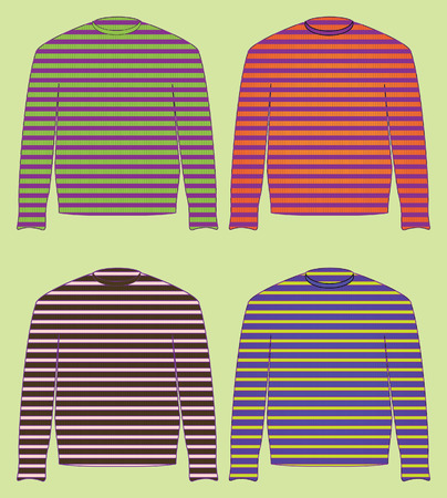 singlet, sweater, jersey, pullover Illustration