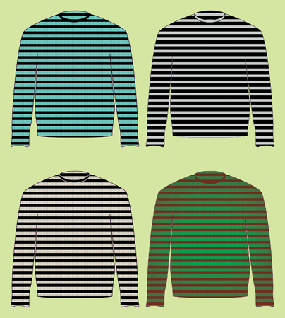 turnout: singlet, sweater, jersey, pullover Illustration