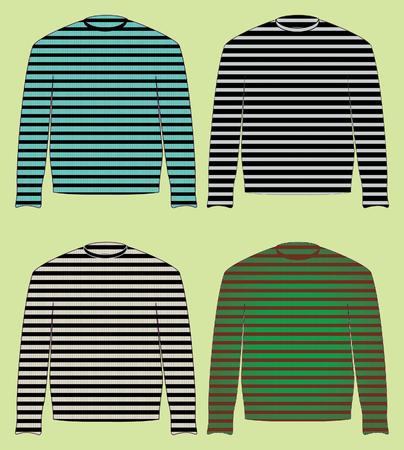 vestment: singlet, sweater, jersey, pullover Illustration