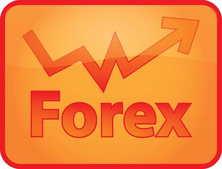 stock trader: forex Illustration