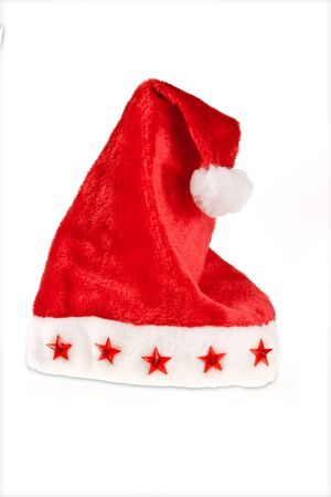 Nice specimen of a red and white santa claus christmas hat photo