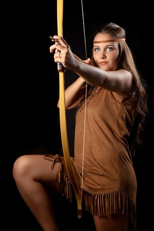 sagittarius: Sagittarius or Archer woman, this photo is part of a series of twelve Zodiac signs of astrology