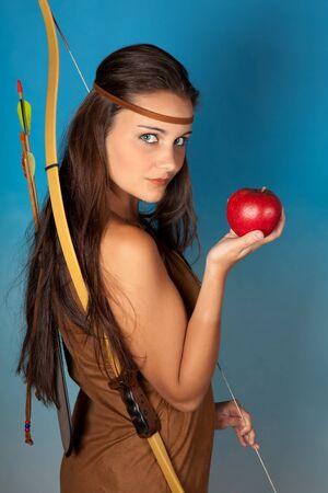 bow and arrow: Sagittarius or Archer woman