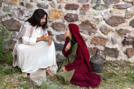 forgiving: Repentant sinner woman asking for forgiveness and healing
