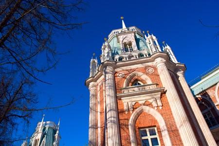 classicism: Fragment of Russian XVIII century classicism architecture