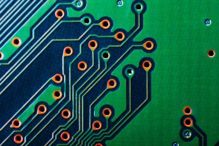 Technology is so close: circuit board macro Stock Photo - 5139244