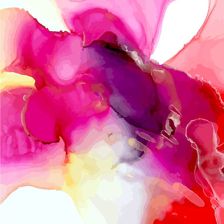 Ink background with Ink, paint, abstract. Closeup of the painting. Colorful abstract painting background. Highly-textured paint. High quality details. 向量圖像
