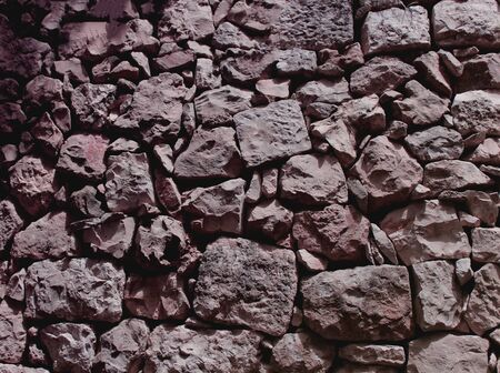 pattern of modern style design decorative cracked real stone wall 写真素材