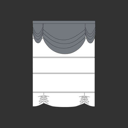 window curtains: curtains. window decoration.