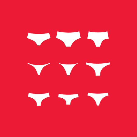 for women: Clothes for women. Panties. String. Tanga. Brief.