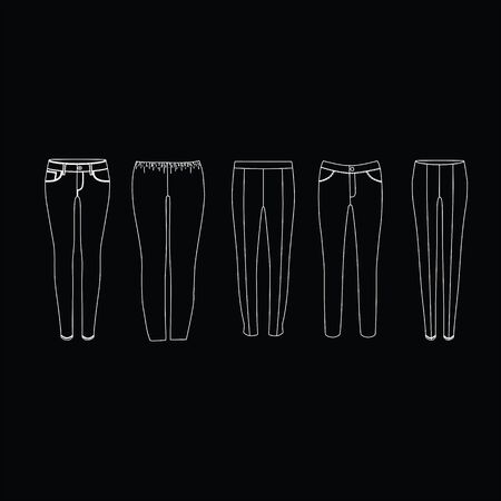 trousers: pants women, jeans, sports pants. Trousers for every day