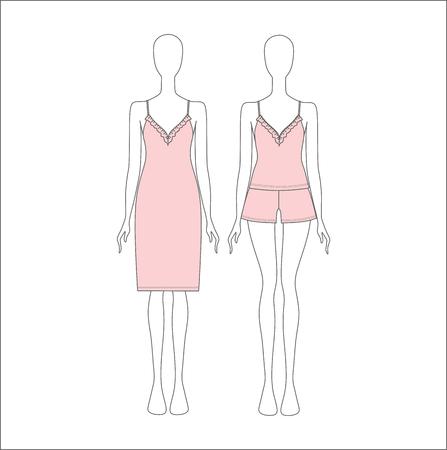 pyjamas: shirt for girls night. top. shorts Pyjamas for women. shirt for girls night. top. shorts