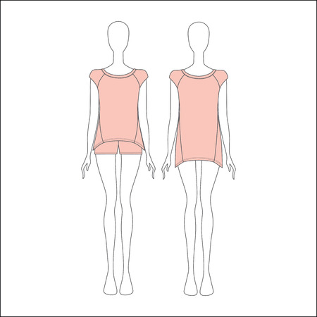 pyjamas: Pyjamas for women. shirt for girls night. top. shorts.