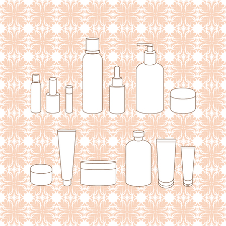 lipstick tube: cream jars. packagings Skin Care. a tube of lotion. cream. lotion. Lipstick hygienic. shower gel. face cream.