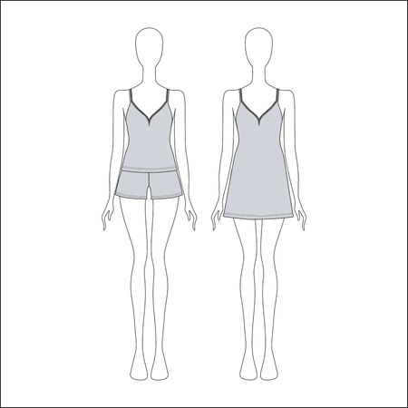 shorts: Pyjamas for women. shirt for girls night. top. shorts.