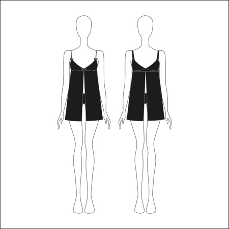 nightgown: sexy nightgown. Womens homewear.