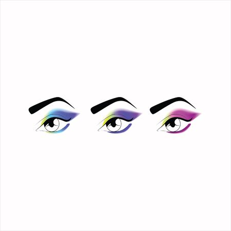 eye makeup: makeup. eye makeup. various options for eye makeup. eyeshadow. the right eye makeup. professional makeup.
