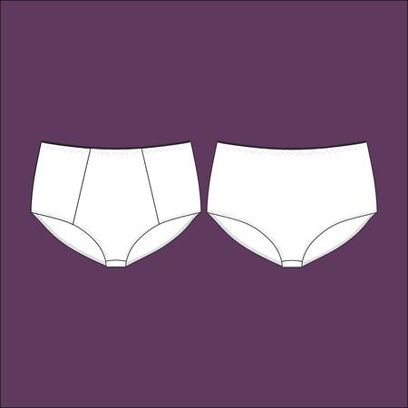 Women's panties. Lingerie. panties for girls.