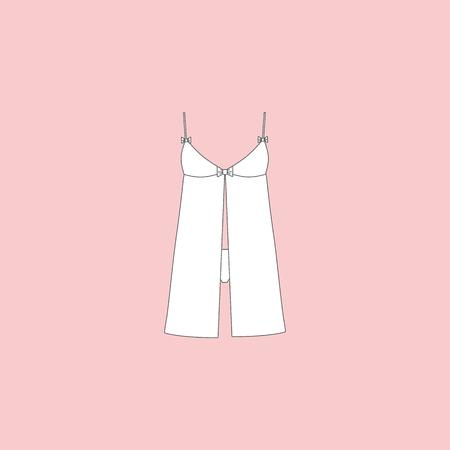 nightie. nightdress. womans house dress
