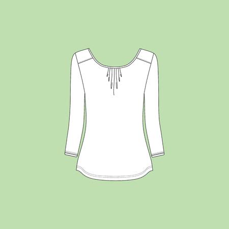 long sleeve: blouse lady long sleeve jersey.