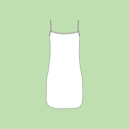 nightie: bedgown jersey. nightie.