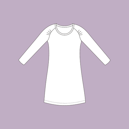 nightdress: nightdress. nightie. womans house dress.