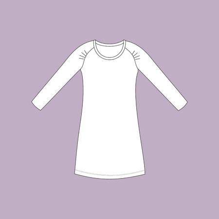 nightwear: nightdress. nightie. womans house dress.