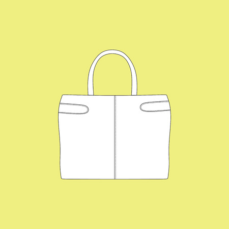 accessory: a bag. Ladys bag. accessory. casual Illustration