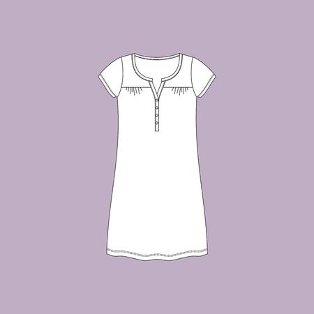 nightdress. nightie. womans house dress.