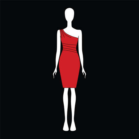 attire: feminine dress. festive attire. elegant clothes.