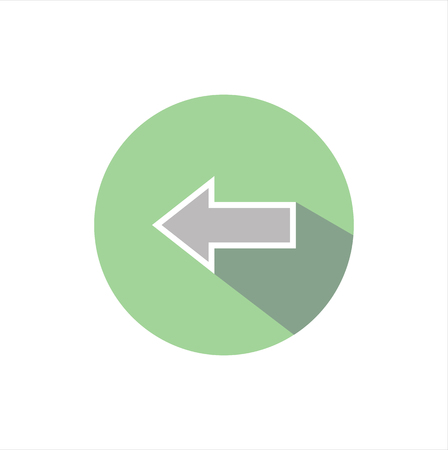 double page: vector illustration icon arrow direction pointer.