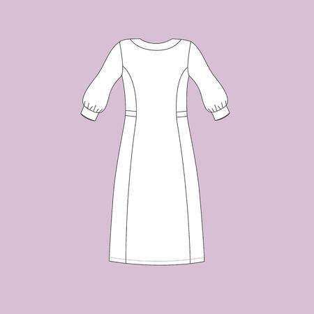 nightwear: nightie jersey. nightgown female.
