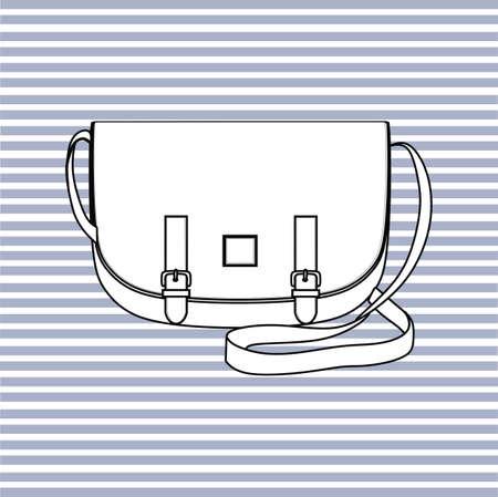 accessory: a bag. handbag. accessory.