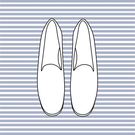 women's shoes: footwear. womens shoes. casual shoes Illustration