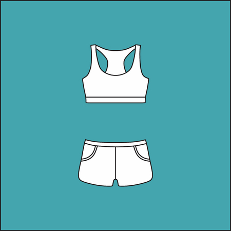 shorts: top and shorts. shirt . Womens summer casual clothing set .