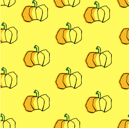 autumn vegetables: print with the pumpkins. autumn vegetables.