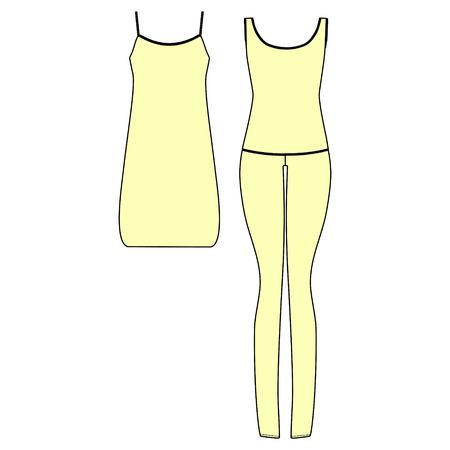Womens homewear. pajamas jersey. shirt night. nightie. pants and top.