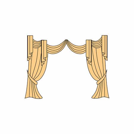 window curtains: Window curtains design sketch