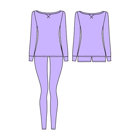 womens clothing. homewear. pants. jumper