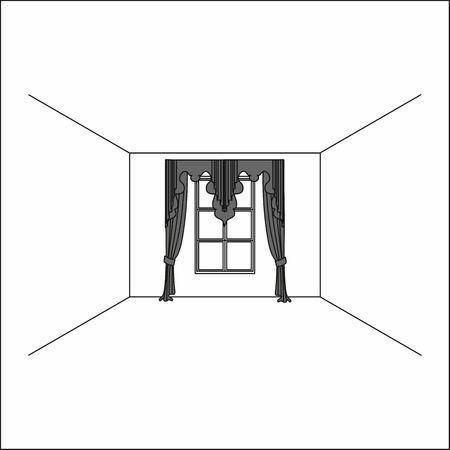 curtains . lambrequin.classic curtains .