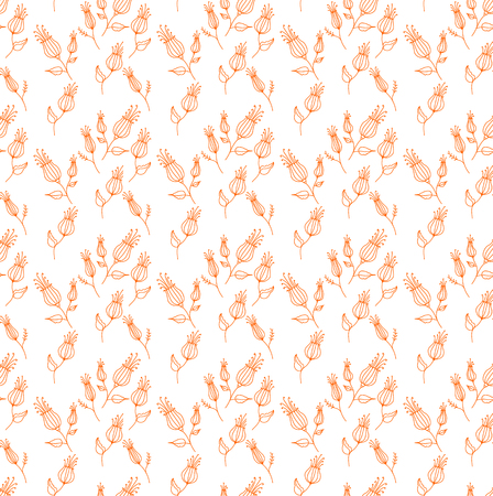 background. Ditsy floral background. The elegant the template for fashion prints. Cute pattern in small flower. Ilustração