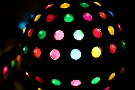 Multicolored ball photo