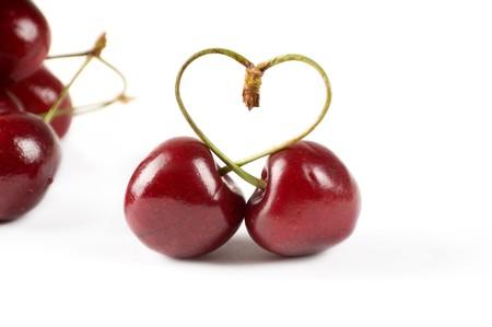 Cherry berry Stock Photo